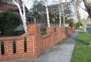 Brick Fence Builders